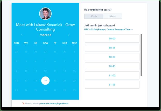 hubspot meeting booking